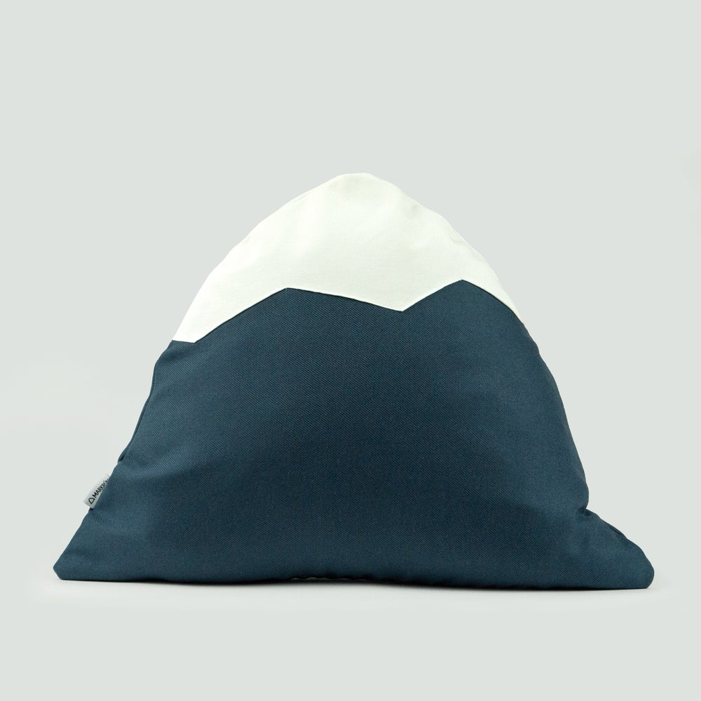 Image of Mountain Pillow C07 | Blue