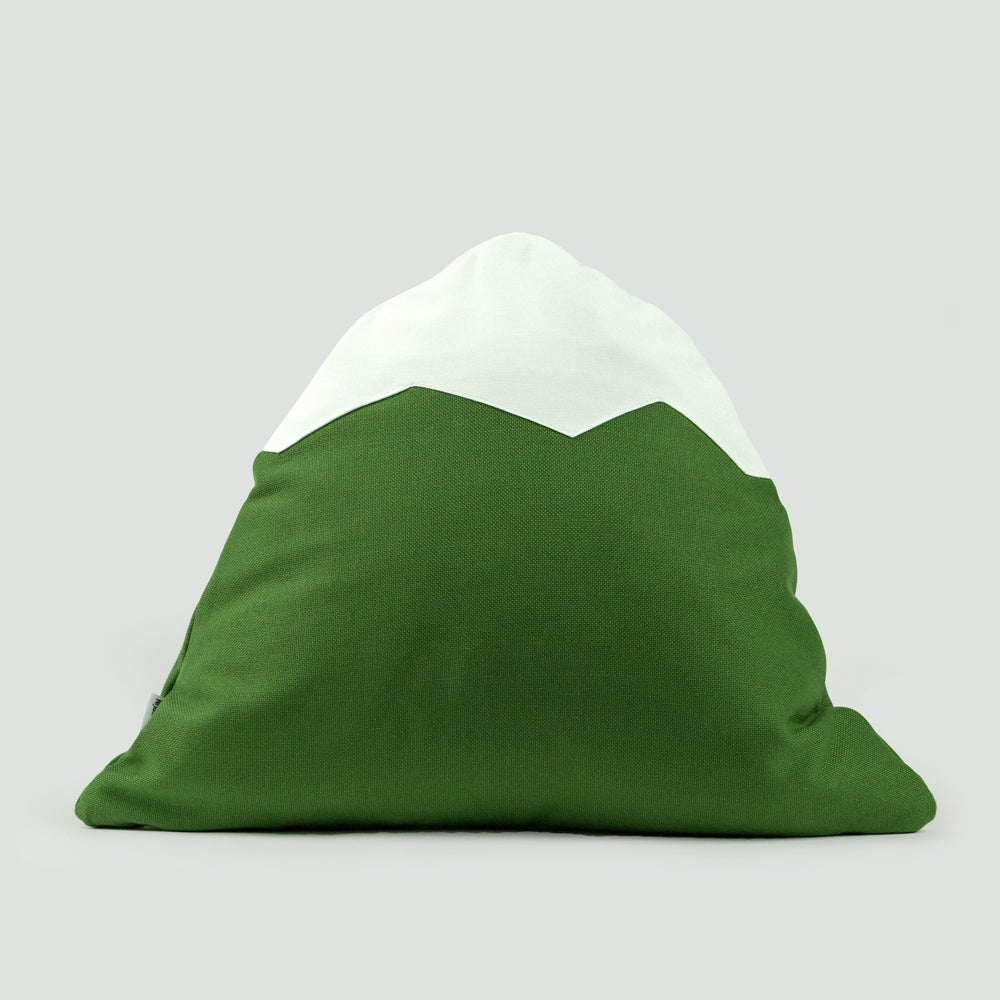 Image of Mountain Pillow C14 | Green
