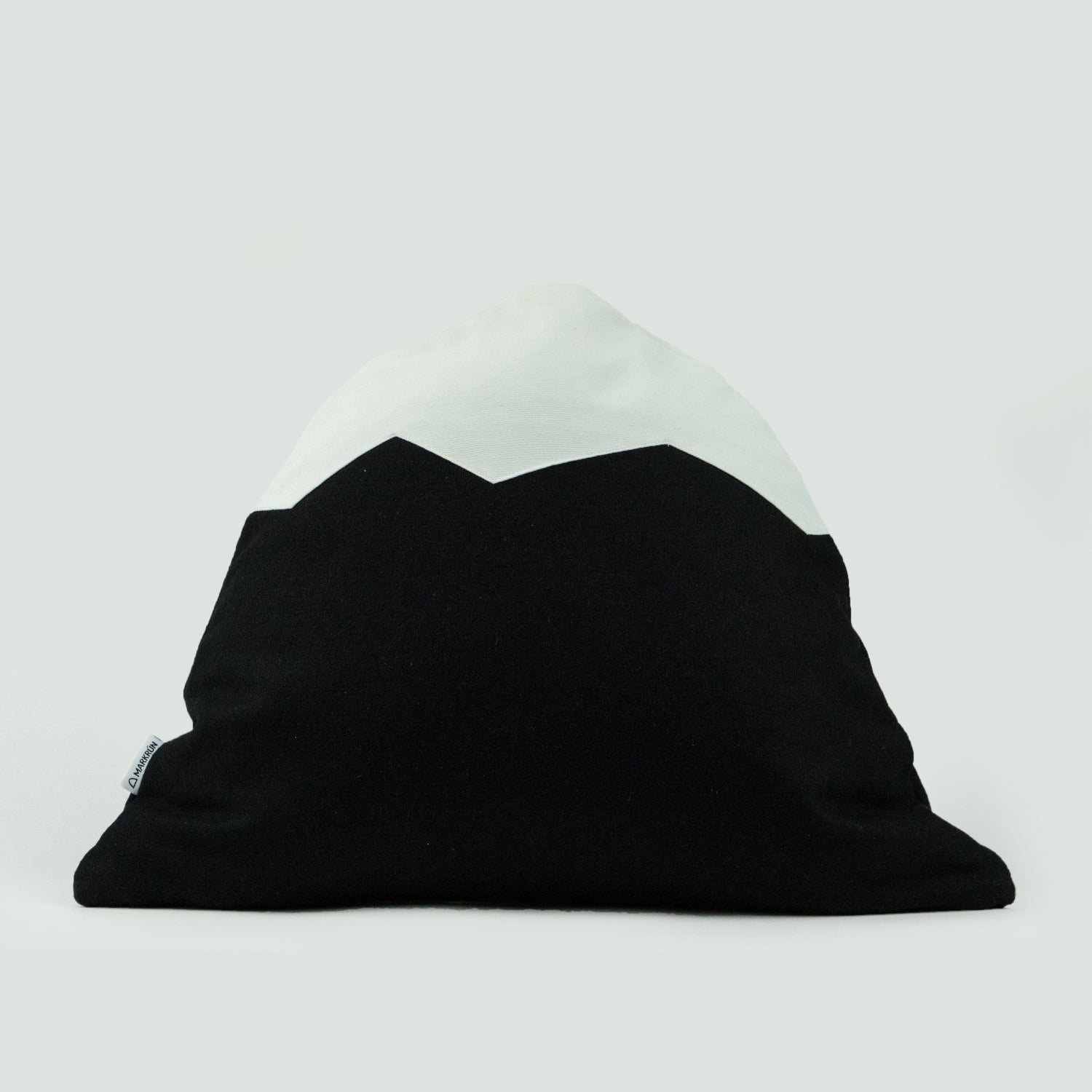Image of Mountain Pillow C05 | Black