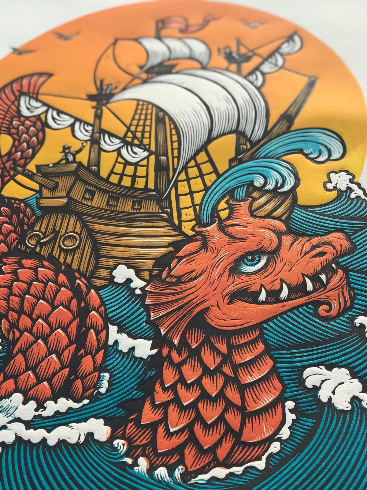 Image of Serpent and Ship