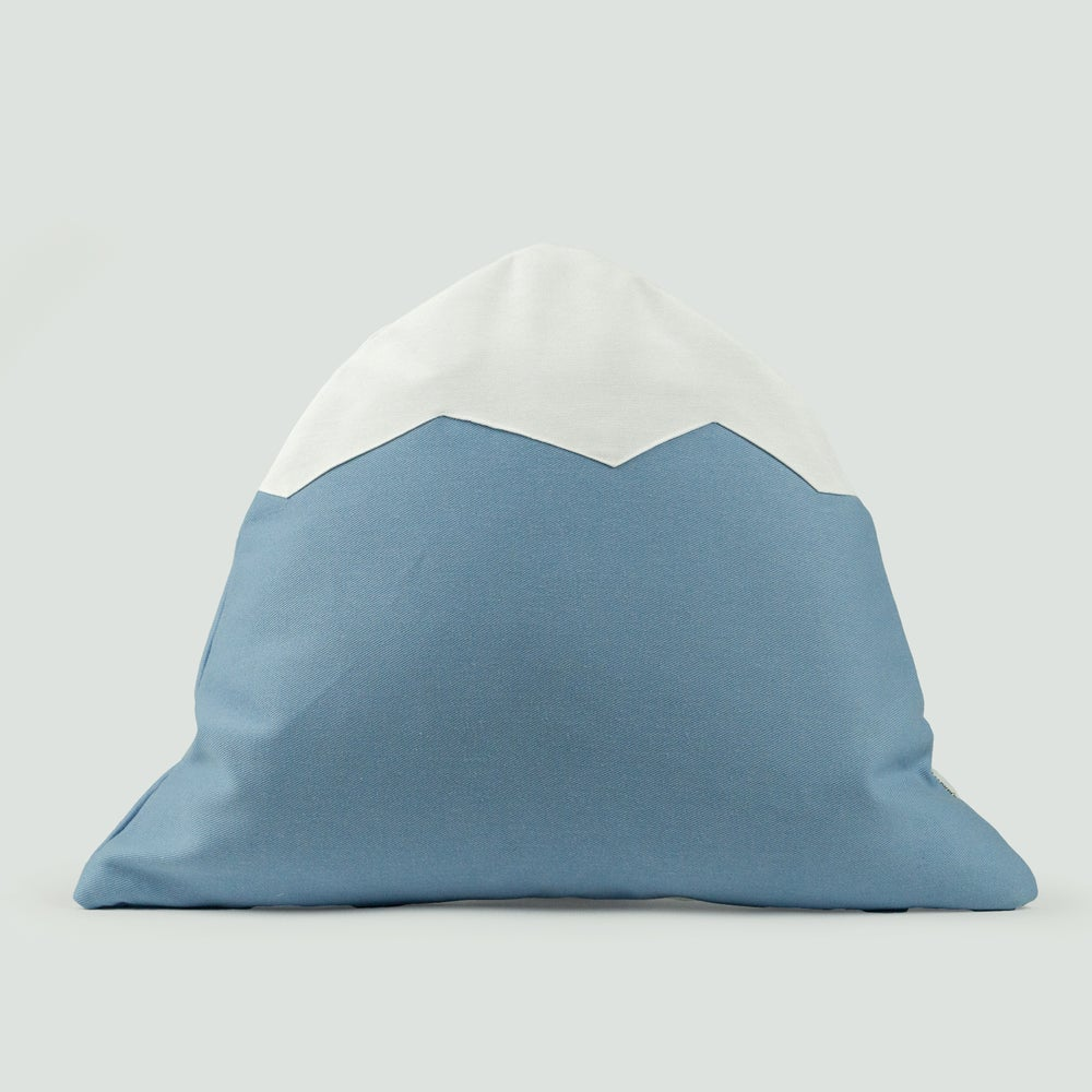 Image of Mountain Pillow C16 | Baby Blue
