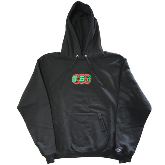 Image of 56K TECHNOLOGIES HOODY BLACK