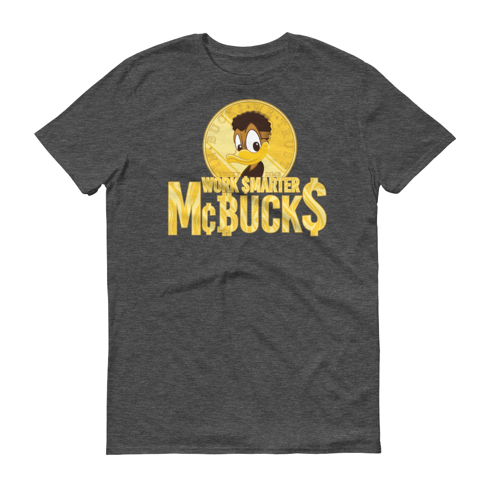 Image of Work $marter McBuck$ Heather T-shirt