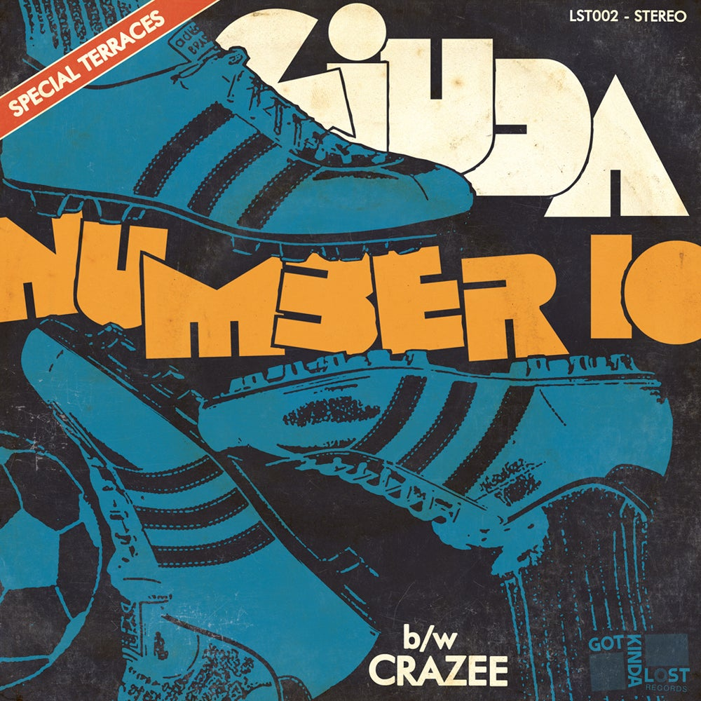 "Image of [PRE-ORDER] GIUDA - ""Number 10"" b/w ""Crazee"" 45 (Got Kinda Lost, 2018 - LST-002)"