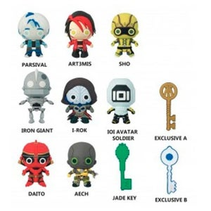Image of Ready Player One 3-D Figural Key Chain Blind bag