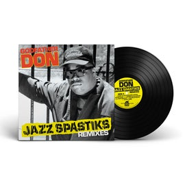 Image of Godfather Don 'Jazz Spastiks Remixes' LP (FPI015)