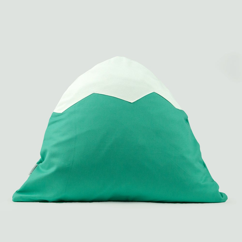 Image of Mountain Pillow C33 | Pastel Green