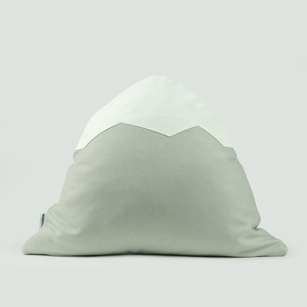 Image of Mountain Pillow C12 | Light Gray