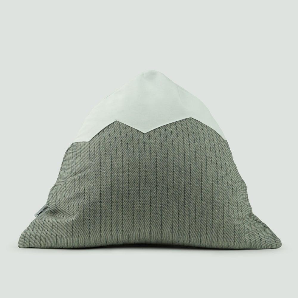 Image of Mountain Pillow C58 | Gray Striped