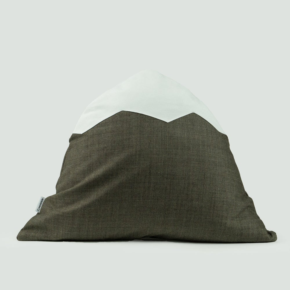 Image of Mountain Pillow C17 | Brown