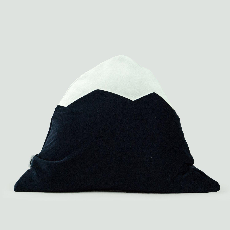 Image of Mountain Pillow C18 | Blue Velvet
