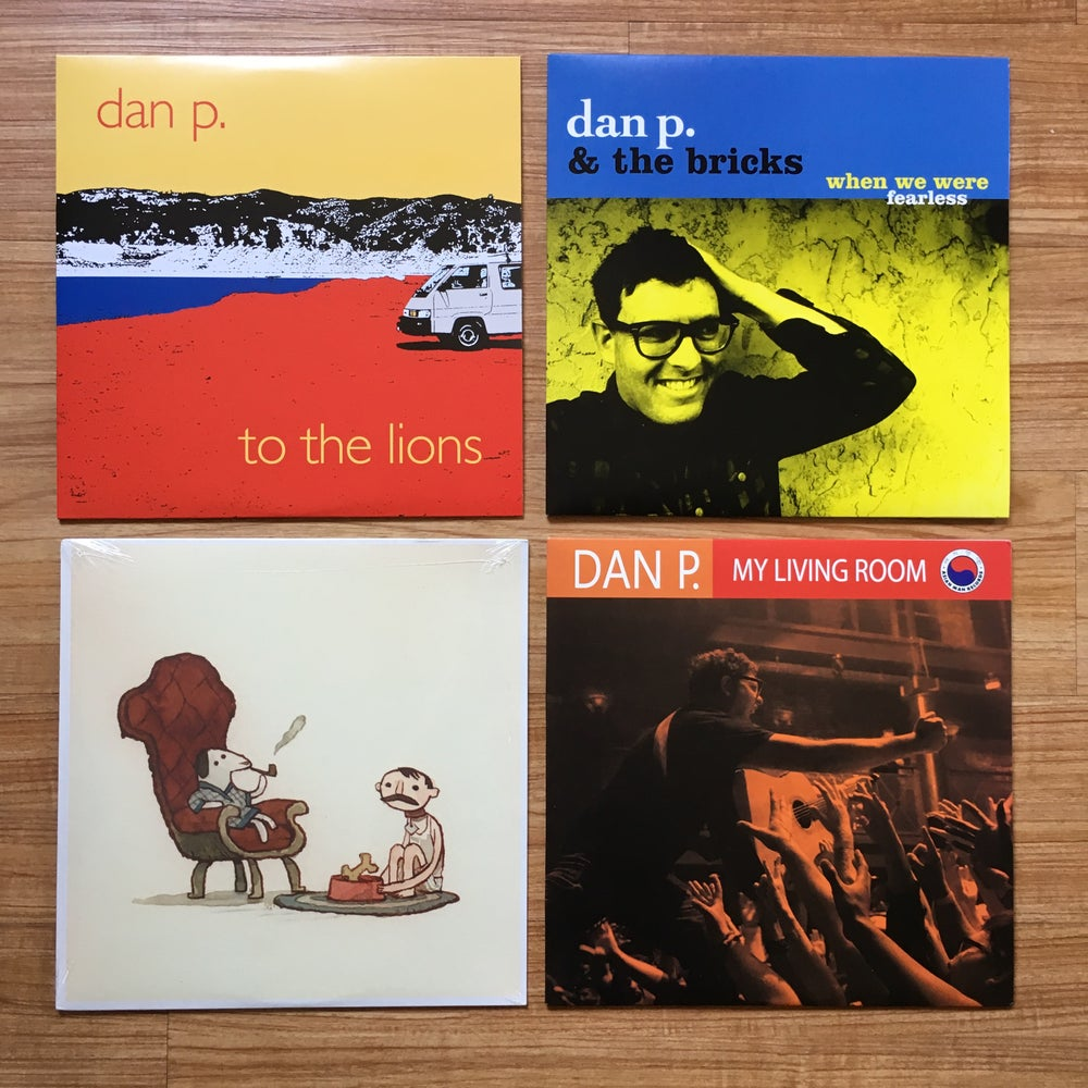 Image of The Dan P. Vinyl Deal! ..with bonus surprise FREE poster. (U.S. Only!)