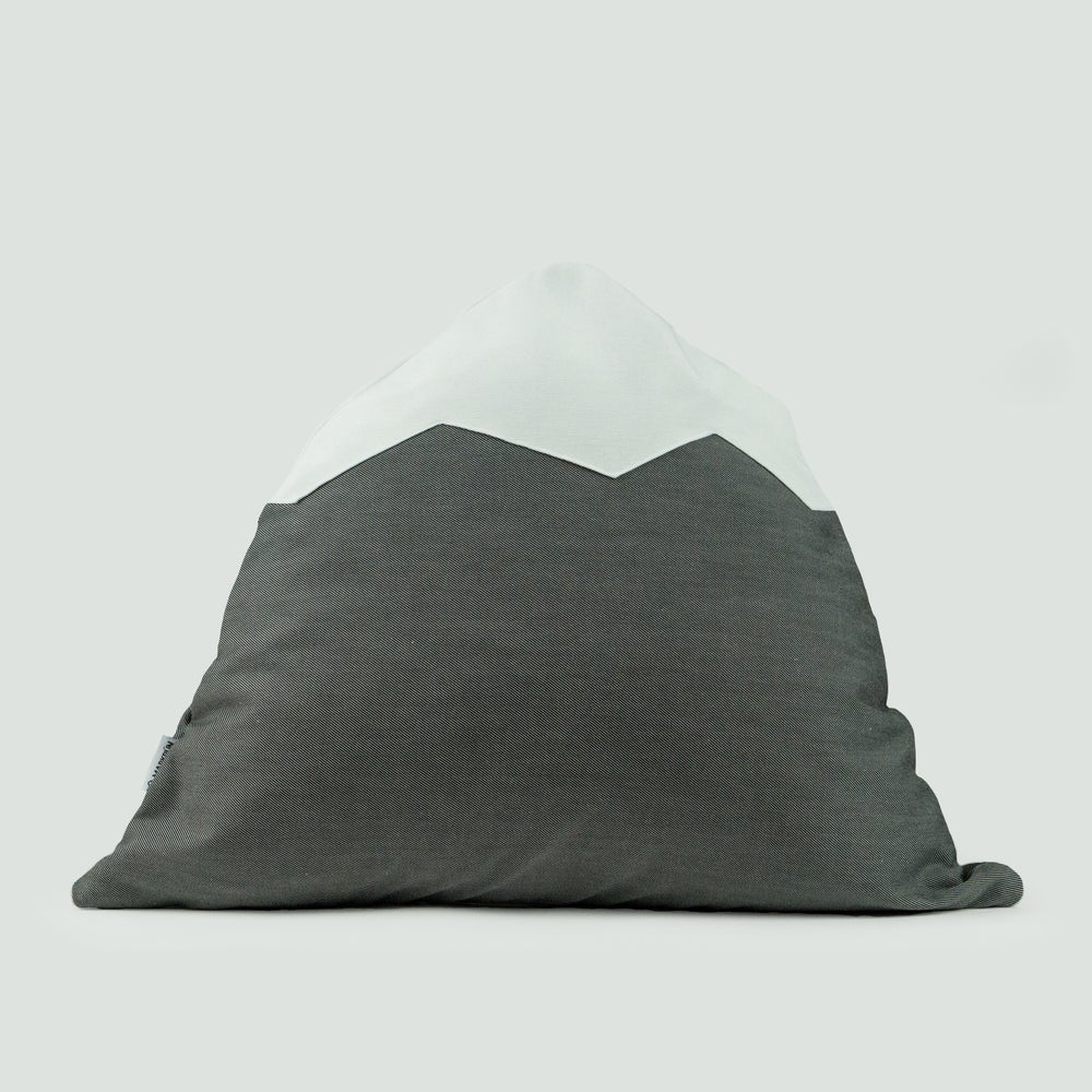 Image of Mountain Pillow C46 | Moire Gray