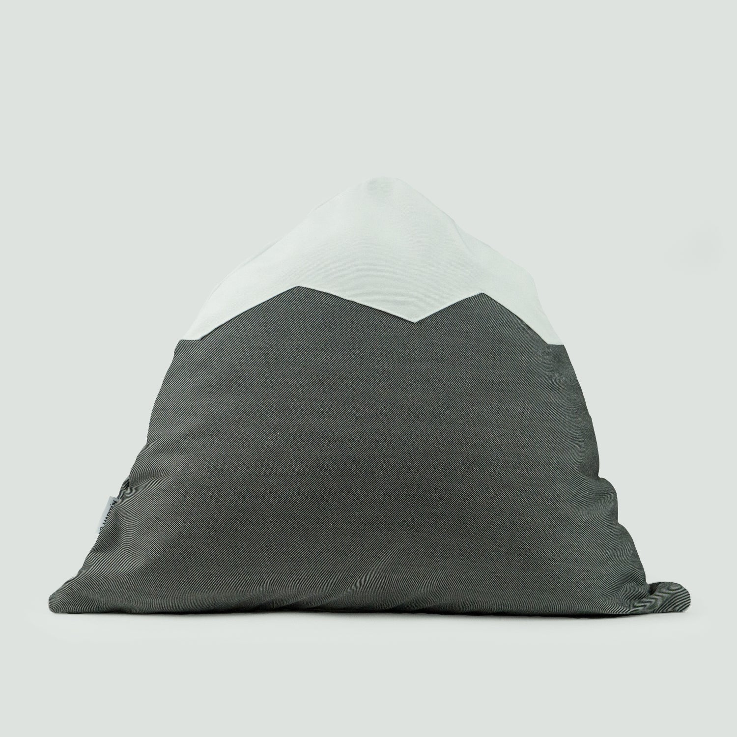 Image of Mountain Pillow C28 | Moire Gray