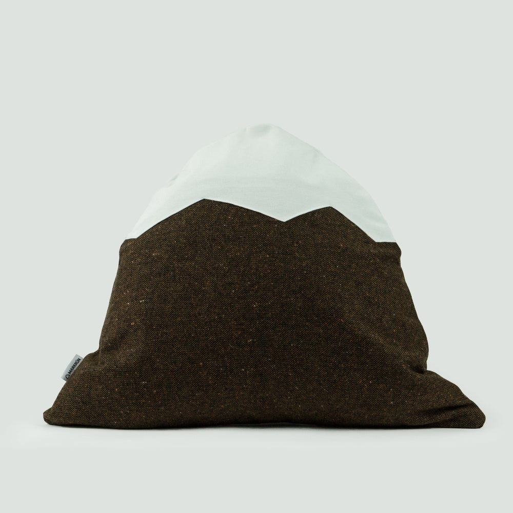 Image of Mountain Pillow C43 | Brown