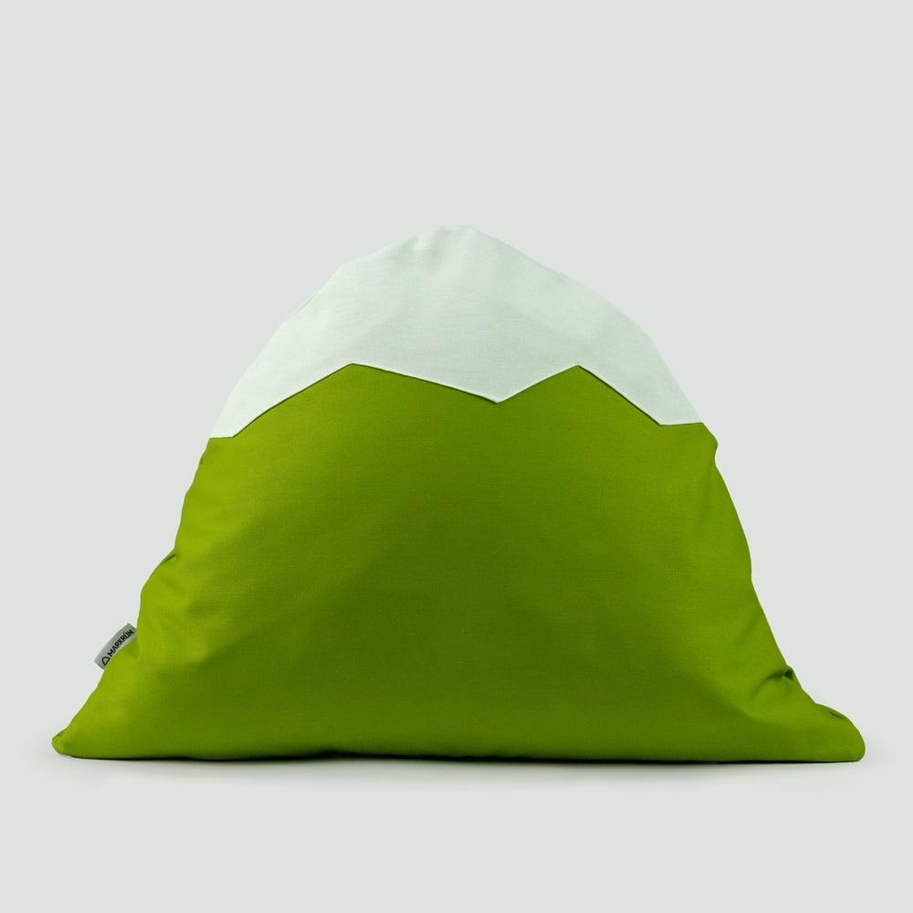 Image of Mountain Pillow C48 | Poison Green