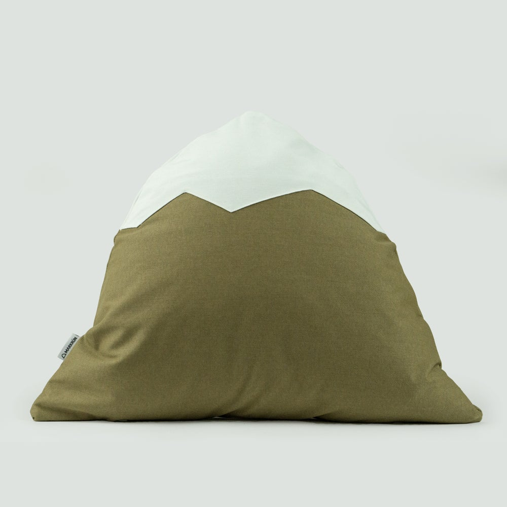 Image of Mountain Pillow C08 | Brown