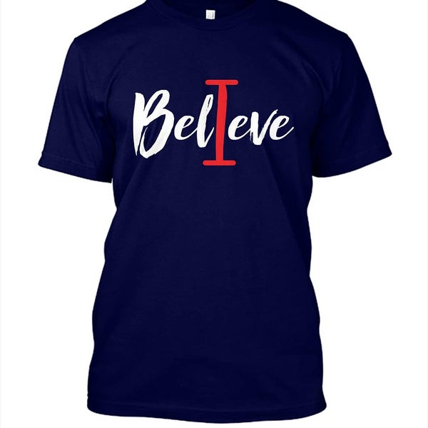Image of Unisex I Believe Short Sleeve Tshirt