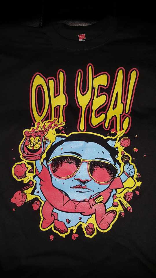 Image of CULT LEADER OH YEA T SHIRT
