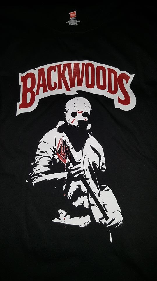 Image of BACKWOOD JASON T SHIRT (PREORDER SHIPS AUG 6TH)