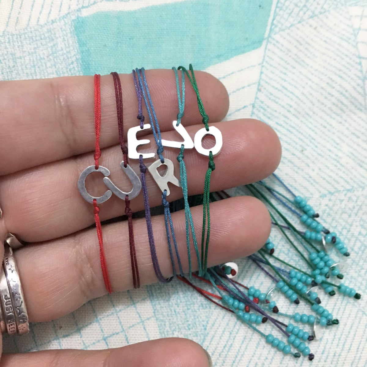 Image of initial bracelet