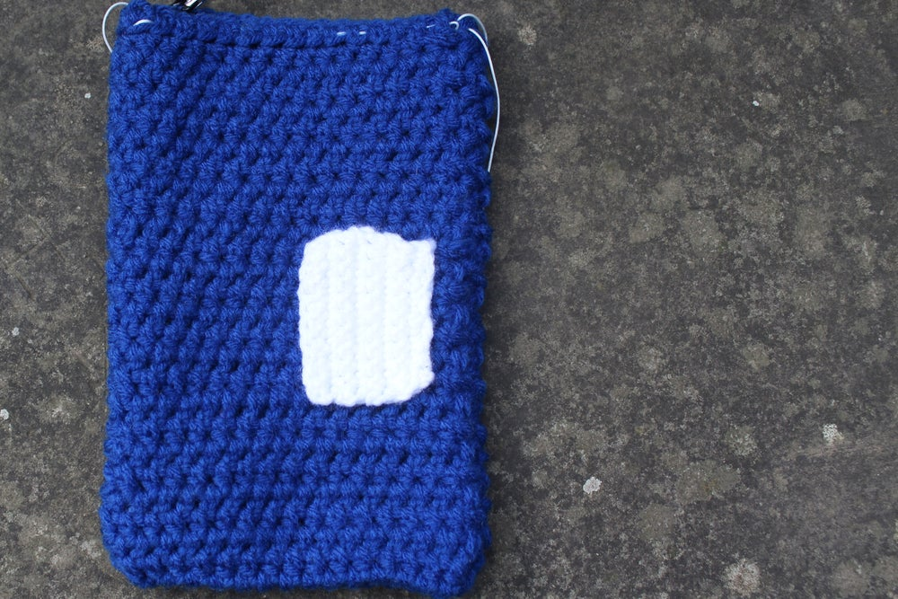 Image of Royal Blue w/ White Pocket Bag