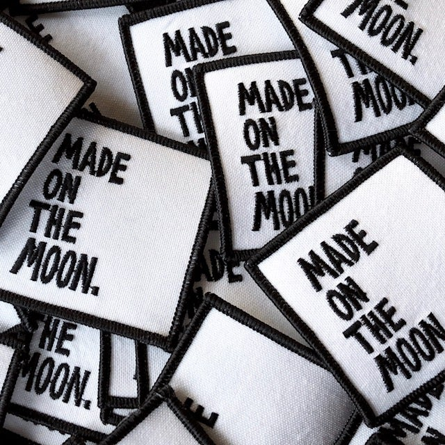 Image of MADE ON THE MOON. PATCHES