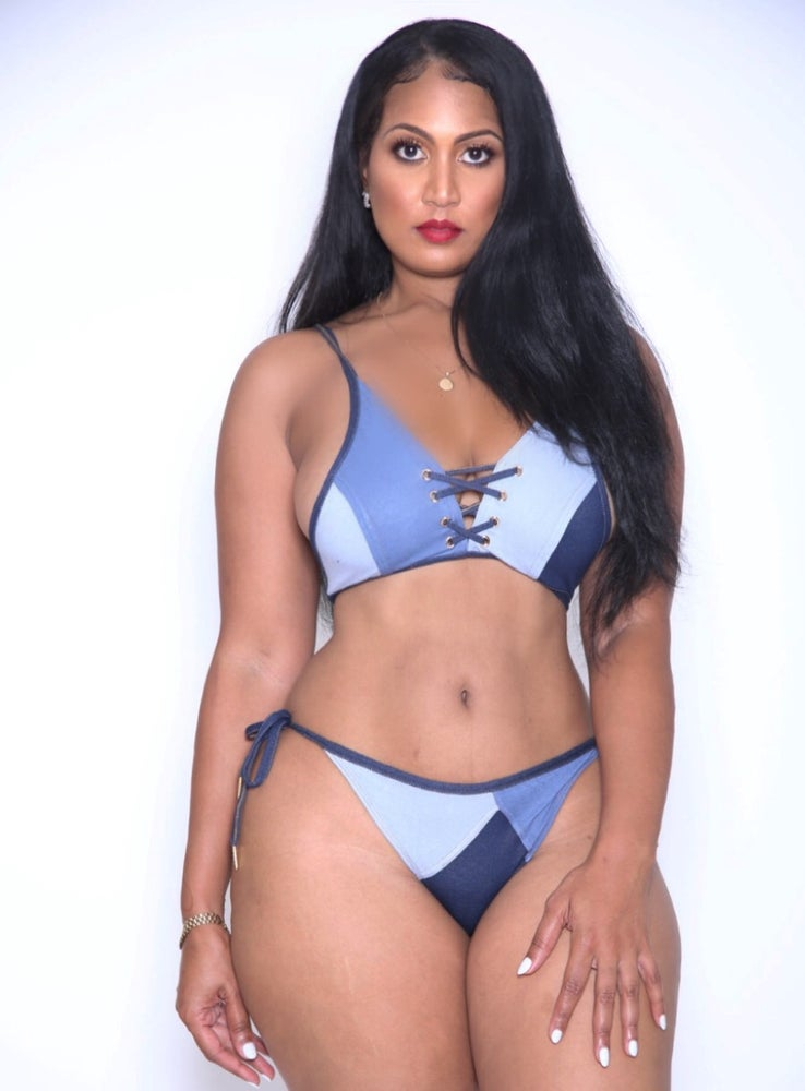 Image of Denim Doll Bikini