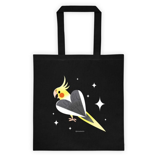 Image of Cockatiel Tote Bag