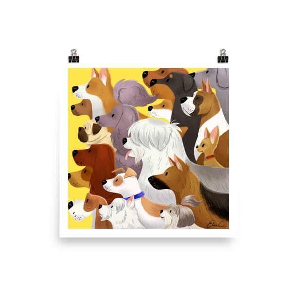 Image of Dog Pack Print
