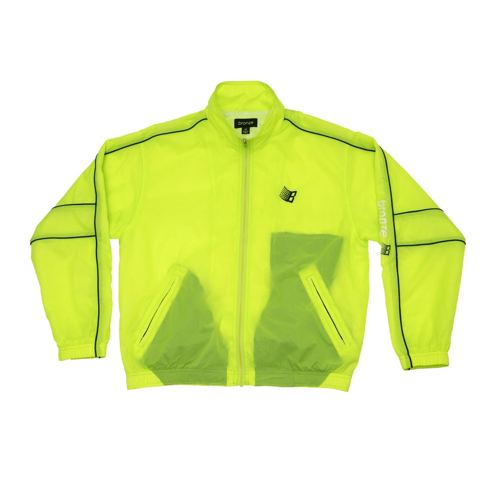 Image of SPORTS JACKET NEON GREEN