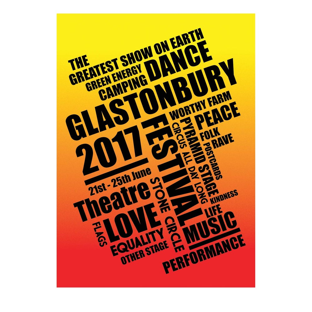 Image of Limited Edition Glastonbury The Greatest Show 2017