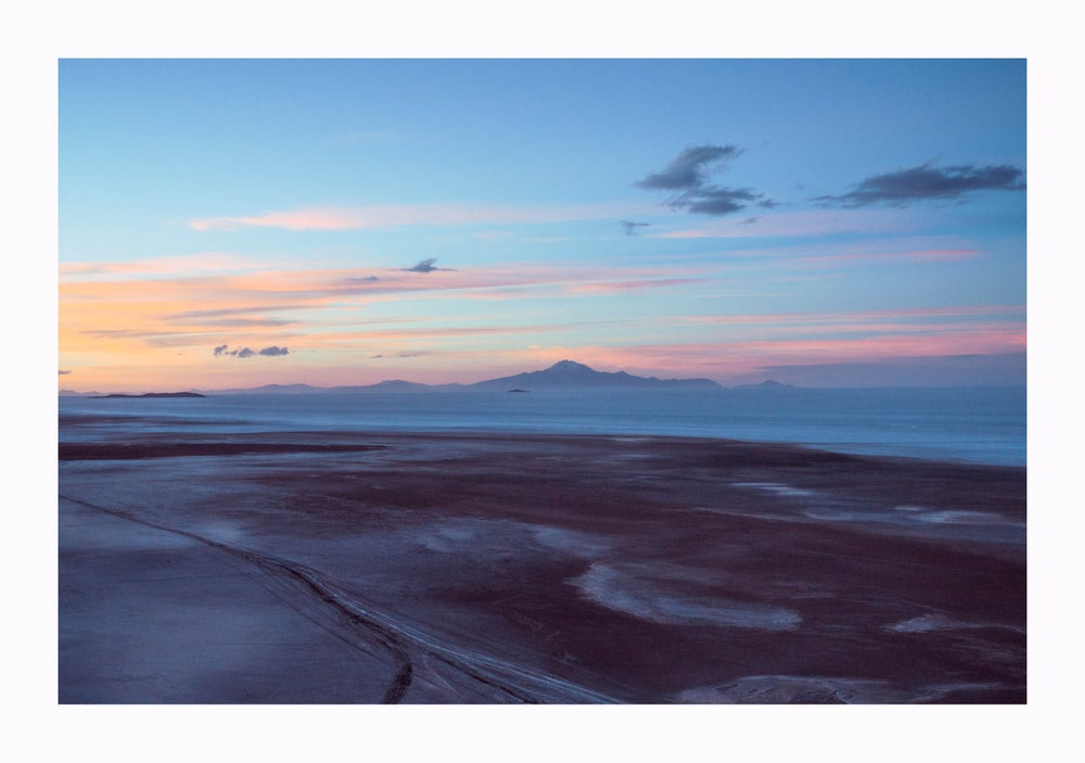 Image of Salt flats at Sunset 2013