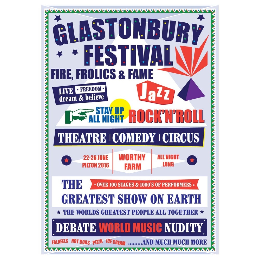 Image of Limited Edition Glastonbury Fun Fun Fun 2016