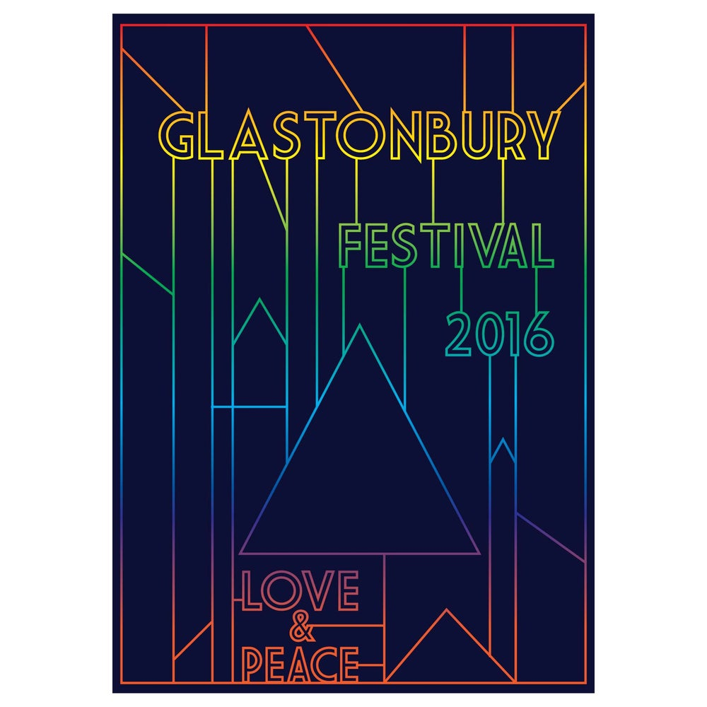 Image of Limited Edition Glastonbury It's Electric 2016