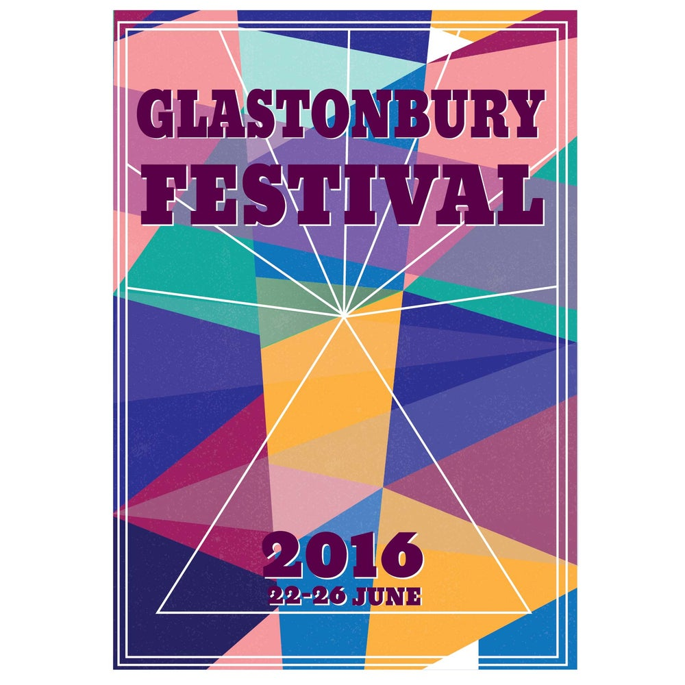 Image of Limited Edition Glastonbury Right Now 2016