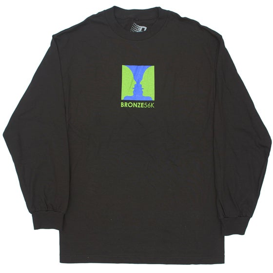 Image of THANKS FOR WATCHING LONGSLEEVE BLACK