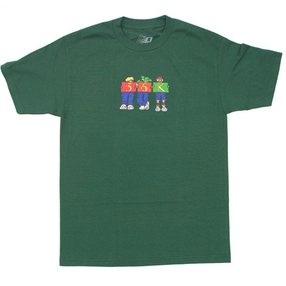 Image of CHILDHOOD TEE FOREST GREEN