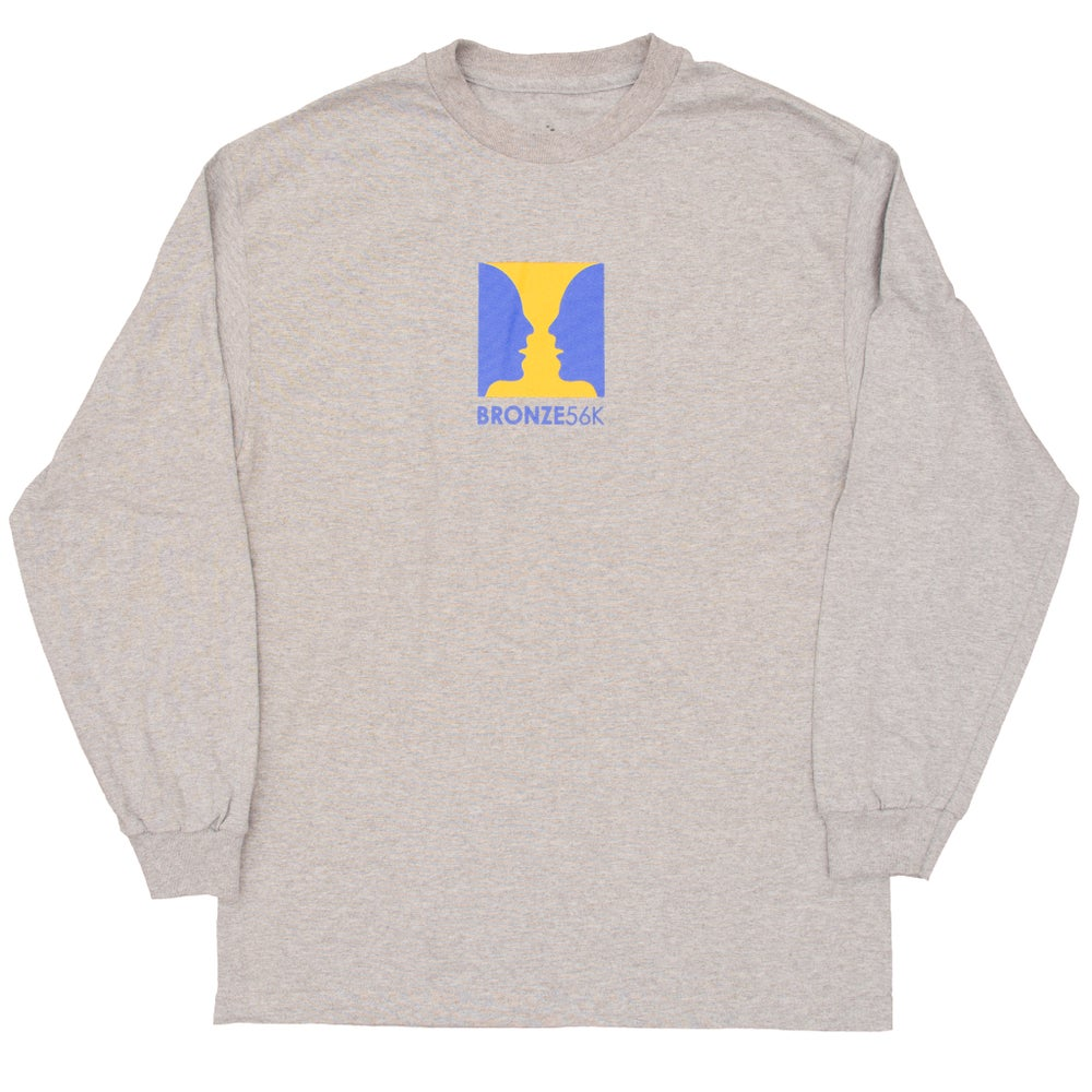 Image of THANKS FOR WATCHING LONGSLEEVE HEATER GREY