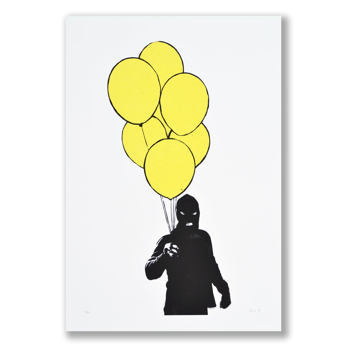 Image of PLAY - Balloon Man (yellow)
