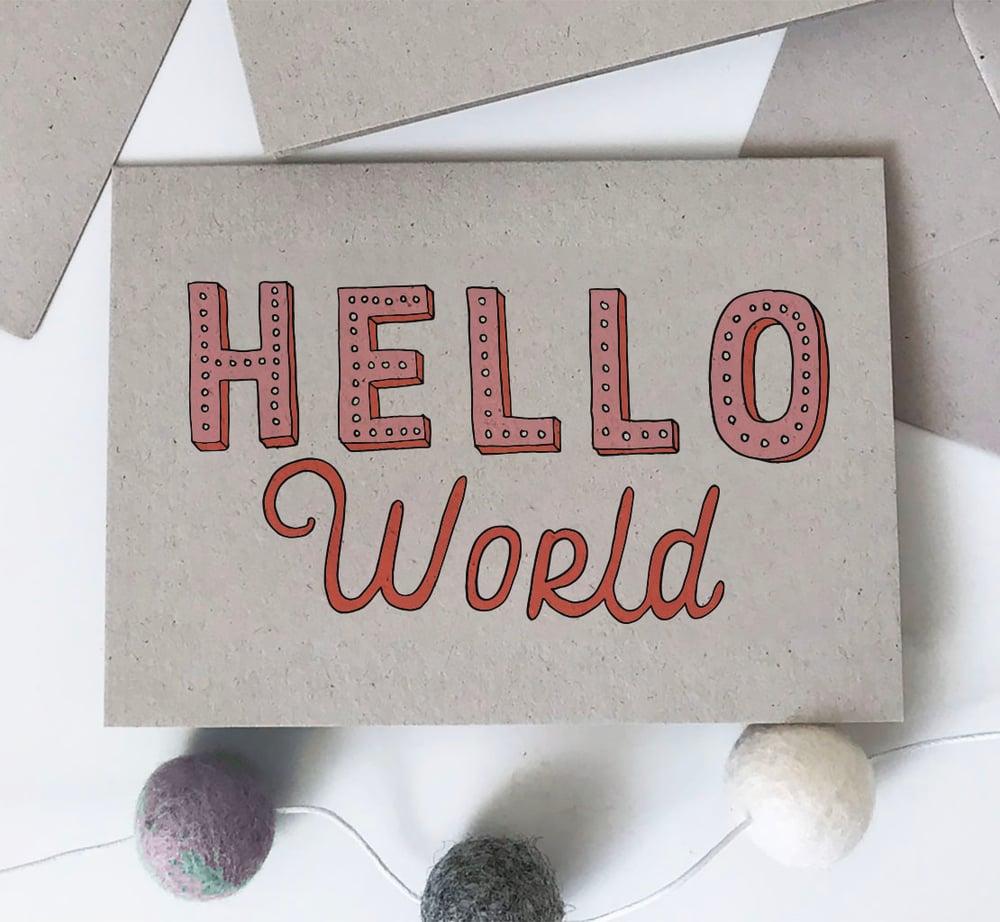 Image of Hello World - Girl