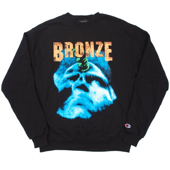 Image of HARDWARE FOR THE MASSES CREWNECK BLACK