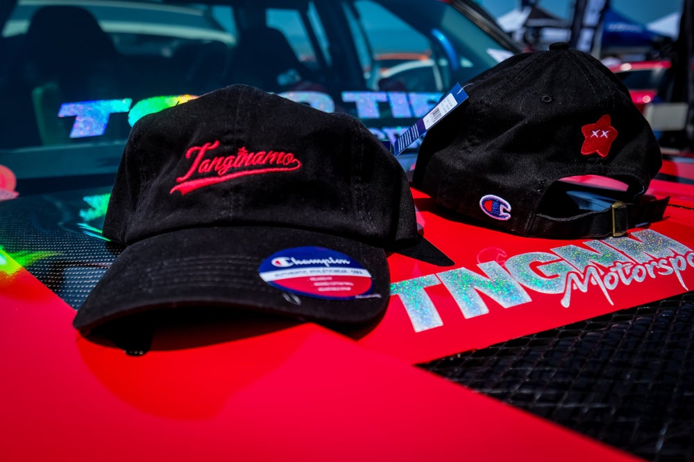 Image of TANGINAMO x CHAMPION Dad hat
