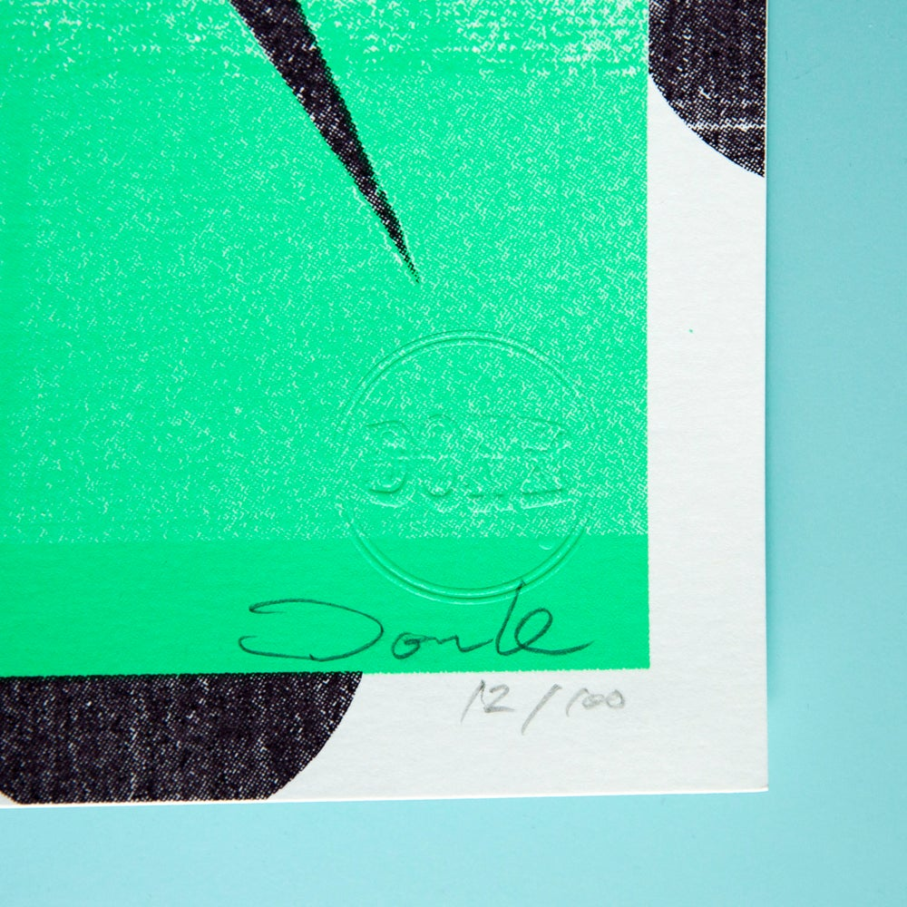 Image of 'Sparks' (Spearmint Green)
