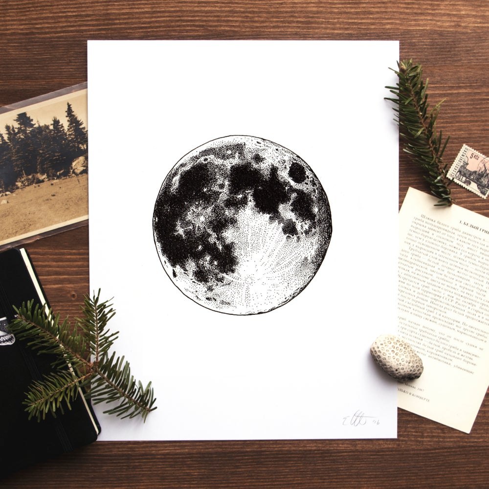 Image of Full Moon Print