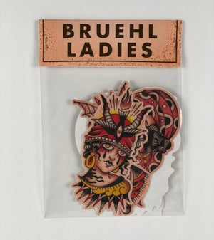 "Image of ""Bruehl Ladies"" Stickers"