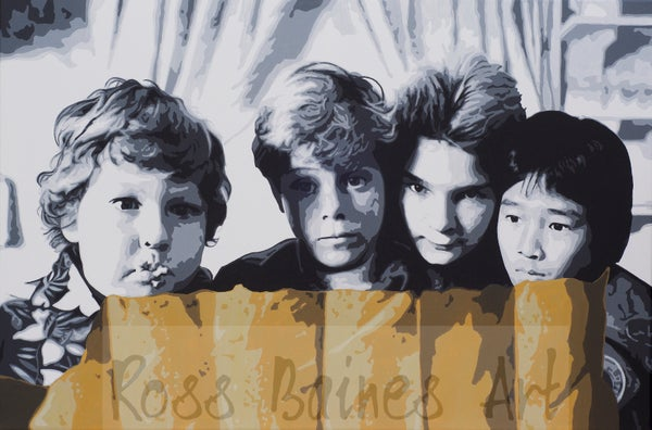 Image of THE GOONIES - (3x2ft canvas print)
