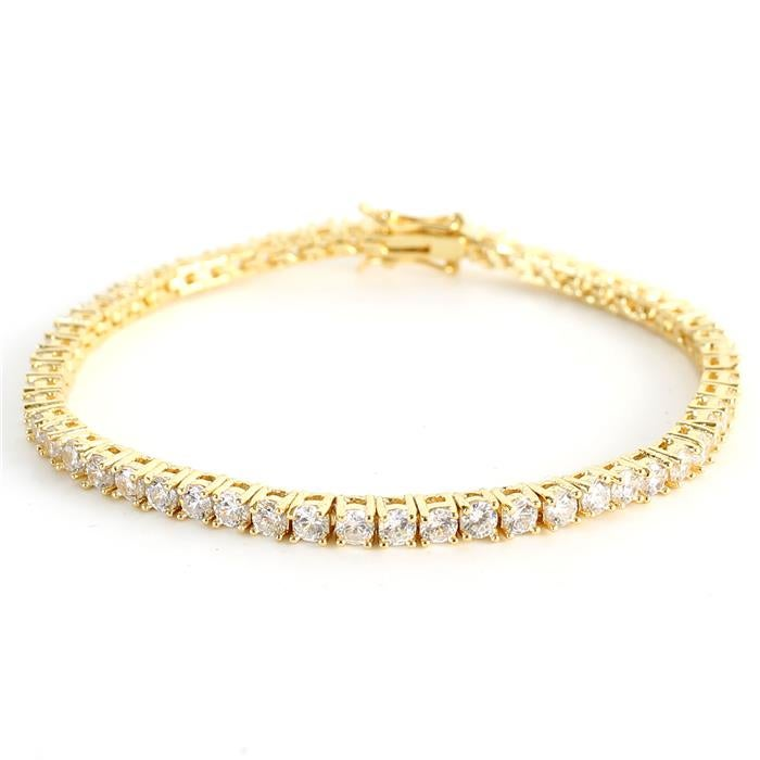Image of 3mm CZ Tennis Bracelet