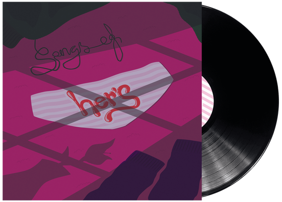 "Image of Her's - 'Songs of Her's' 12"" Black Vinyl"