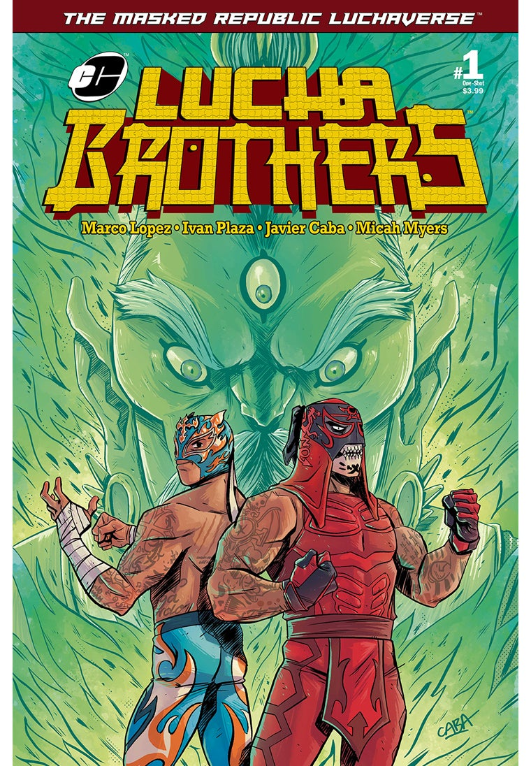 Image of Masked Republic Luchaverse: Lucha Brothers #1 One-Shot - Red Penta Variant (Ltd. 500)